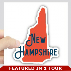 New Hampshire logo with bar