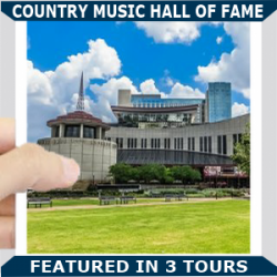 Country Music Hall of fame square Blue
