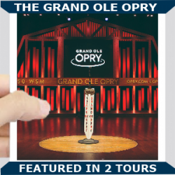 Grand Ole Opry Square Blue